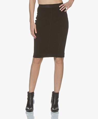 By Malene Birger Polson Pencil Skirt - Black