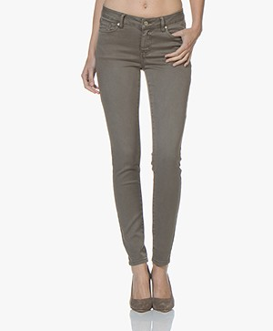 Repeat Skinny Jeans - Dark Brown