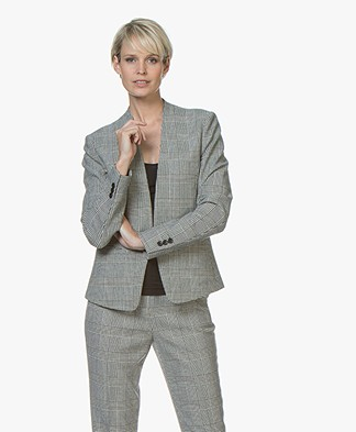 BOSS Jalesta Collarless Open Blazer - Open Miscellaneous