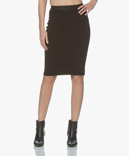 cdd6ae8345 By Malene Birger Polson Pencil Skirt - Black - polson   q63200003z 050