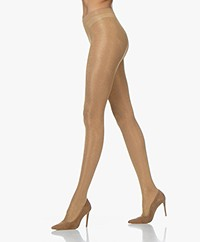 FALKE Highshine 20 Den Lurex Tights - Powder/Gold