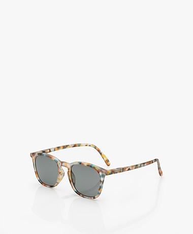 IZIPIZI SUN #E Sunglasses - Blue Tortoise/Grey Lenses