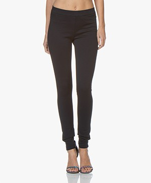 Repeat Viscosemix Jersey Slim-fit Broek - Navy