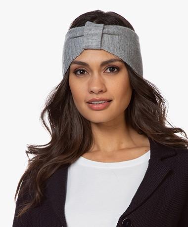 Resort Finest Cashmere Wool Blend Hair Band - Grey