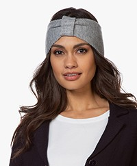 Resort Finest Cashmere Wool Blend Hair Band - Grey