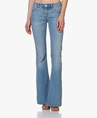 Denham Farrah Miami Flare Fit Jeans - Light Blue