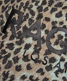 Ragdoll LA Holiday Canvas Luipaard Tas - Blauw