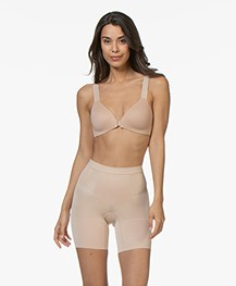 SPANX® OnCore Mid-Thigh Short - Soft Nude