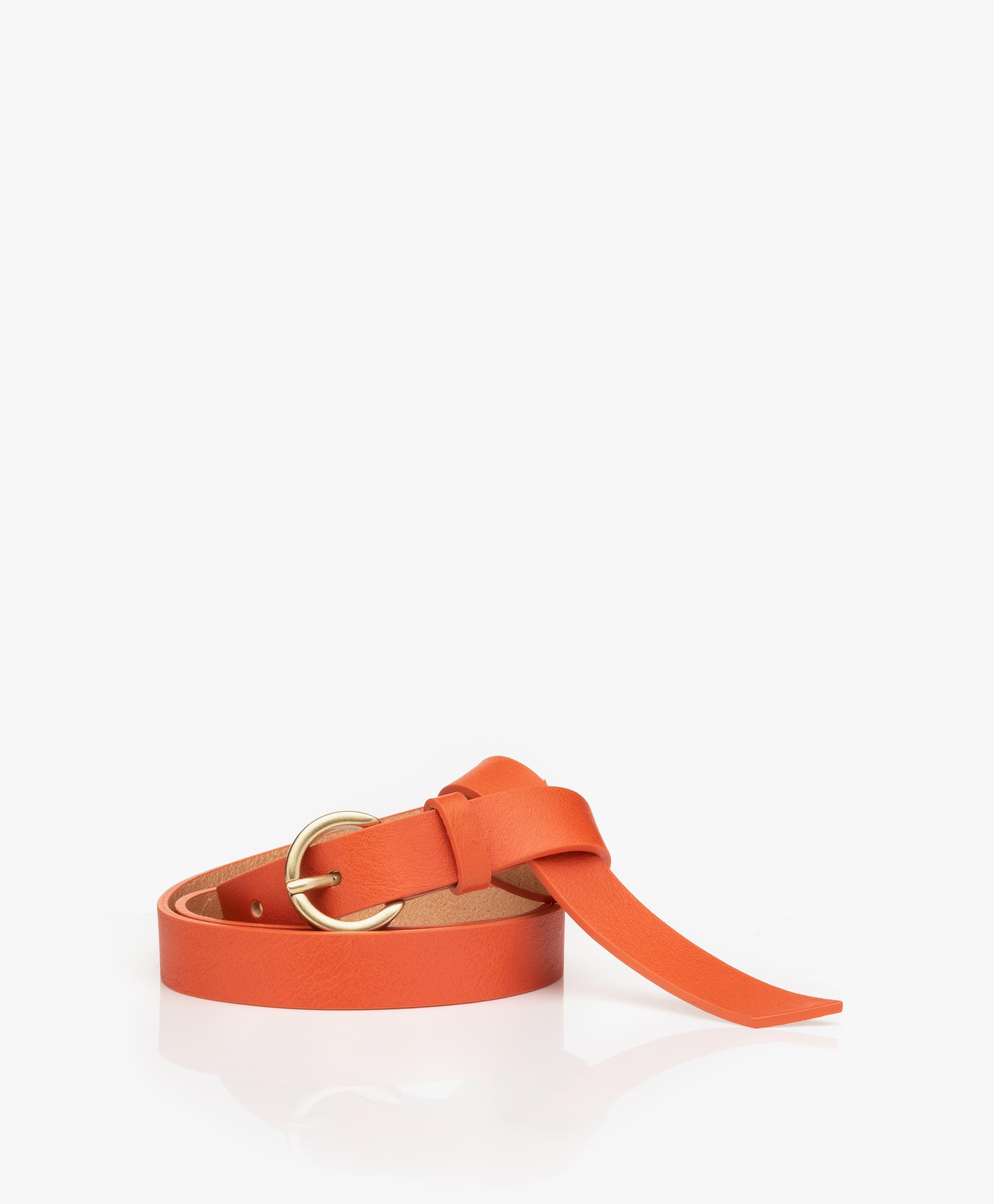 Immagine di American Vintage Belt Lomobay Small Leather in Colorado