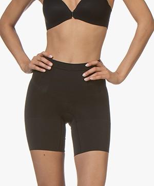 SPANX® OnCore Mid-Thigh Shorts - Black