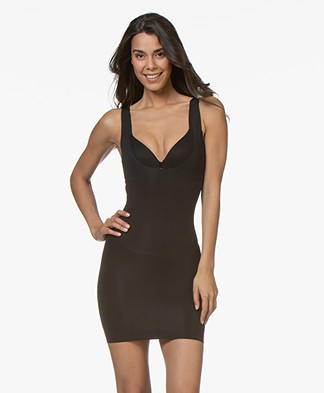 SPANX® Shape My Day Open-Bust Slip - Black