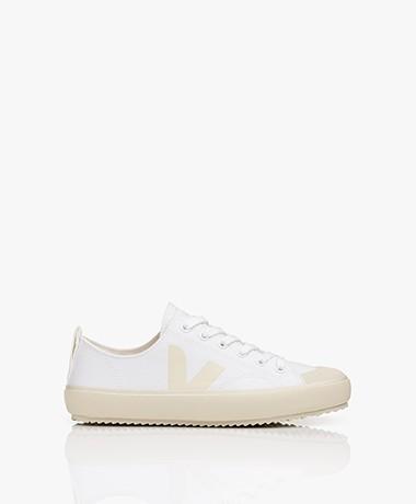 VEJA Nova Organic Cotton Sneakers - White/Pierre