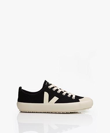 VEJA Nova Biologisch Katoenen Sneakers - Zwart/Pierre