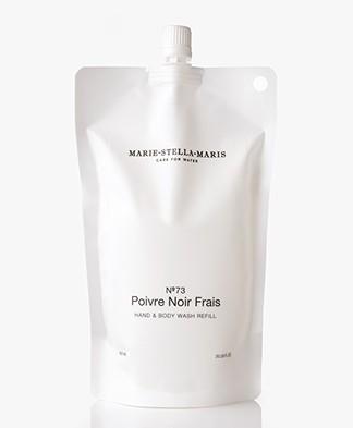 Marie-Stella-Maris Hand & Body Wash Navulverpakking - No.73 Poivre Noir Frais