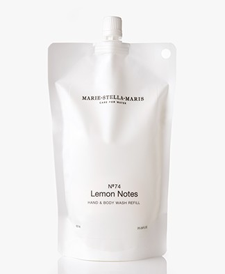 Marie-Stella-Maris Hand & Body Wash Navulverpakking - No.74 Lemon Notes