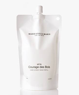 Marie-Stella-Maris Hand & Body Wash Refill - No.76 Courage des Bois