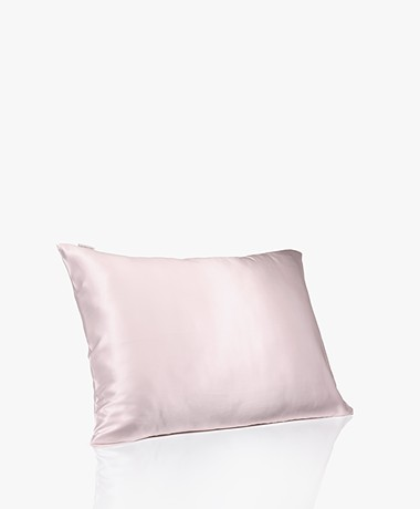 By Dariia Day Mulberry Zijden Kussensloop - Blush Pink