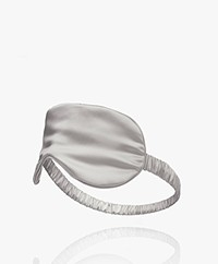 By Dariia Day Mulberry Silk Sleep Mask - Silver Grey