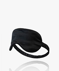 By Dariia Day Mulberry Silk Sleep Mask - Midnight Black