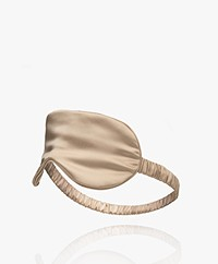 By Dariia Day Mulberry Silk Sleep Mask - French Beige