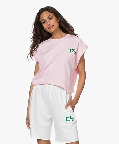 Dolly Sports Martina Katoenen T-shirt - Lichtroze