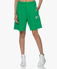 Dolly Sports Team Dolly Cotton Shorts - Green