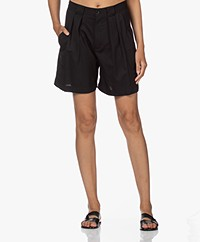 Closed Joon Bermuda Wool Shorts - Black