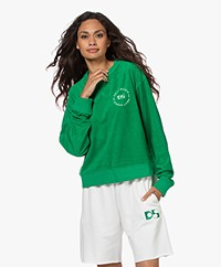 Dolly Sports Classic Frotté Sweatshirt - Groen
