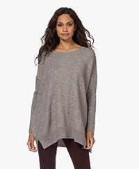 Sibin/Linnebjerg Elsa Merino Blend Sweater - Sand