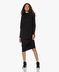 Sibin/Linnebjerg Nice Fine Knitted Merino Dress - Black