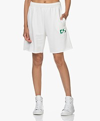 Dolly Sports Team Dolly Katoenen Shorts - Off-white