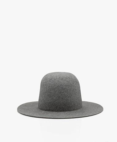 Vanessa Bruno Merino Wool Hat - Grey