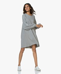 American Vintage Retburg Sweater Dress - Grey Melange