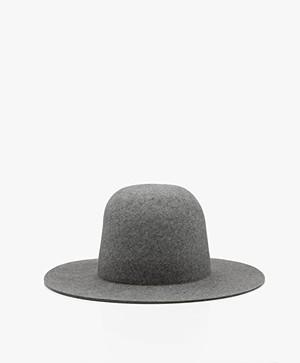 Vanessa Bruno Merino Wool Hat - Grey