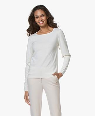 Resort Finest Forte Round Neck Pullover - Off-white