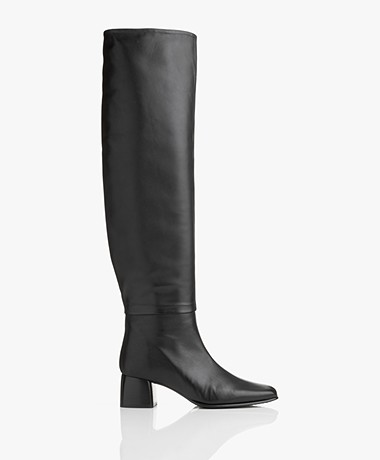 Filippa K Camille Knee High Laarzen - Zwart