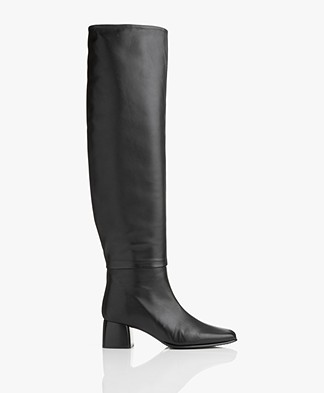 Filippa K Camille Knee High Boot - Black