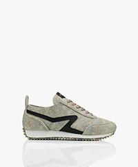 Rag & Bone Recycled Retro Runner Sneakers - Multimel