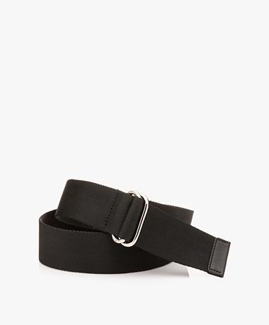 Filippa K Webbing D-ring Belt - Black