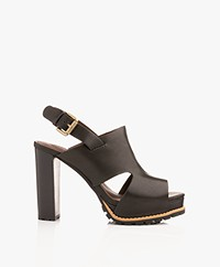 See By Chloé Brooke Sandals with Cut-out Details - Black