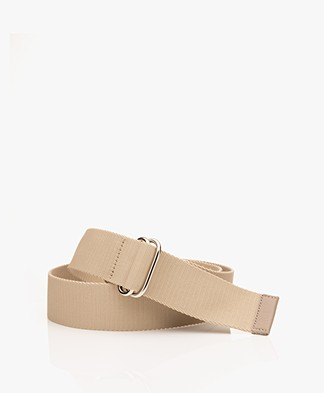 Filippa K Webbing D-ring Belt - Beige