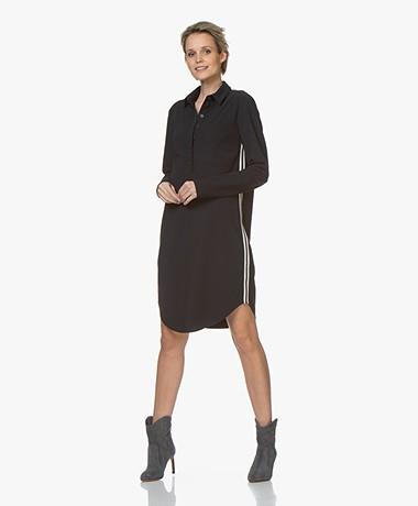 Josephine & Co Roma Travel Jersey Dress - Navy