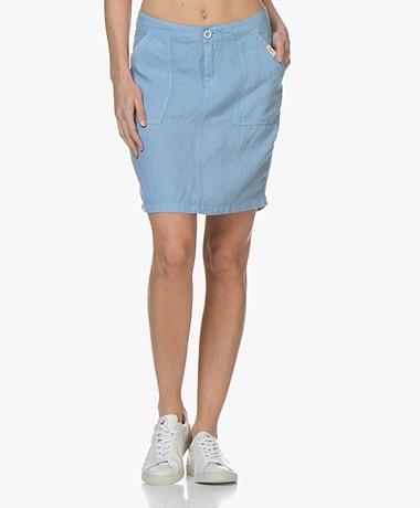 Josephine & Co Biek Linen Skirt - Sky Blue
