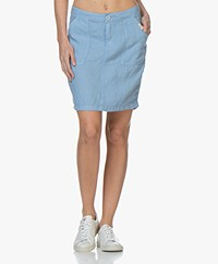 Josephine & Co Biek Linen Skirt - Sky Blue