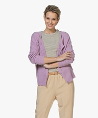 American Vintage Damsville Button-through Cardigan - Violet