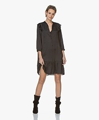Zadig & Voltaire Rygg Satin Dress - Black