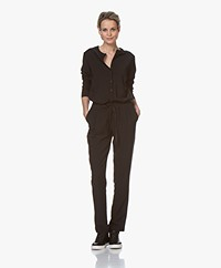 by-bar Charlie Tech Stretch Jumpsuit - Zwart