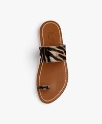 K. Jacques St. Tropez Nagoya Leather Sandals - Horsy Tigre