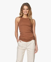 By Malene Birger Amiee Tanktop - Walnut