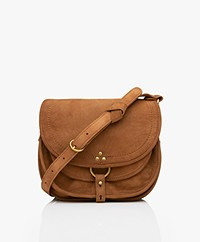 Jerome Dreyfuss Felix M Saddle Shoulder/Cross-body Bag - Caramel